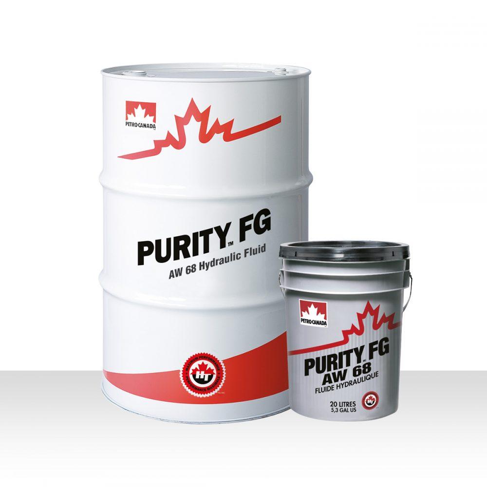 Petro Canada Purity FG AW Hydraulic Fluid 68