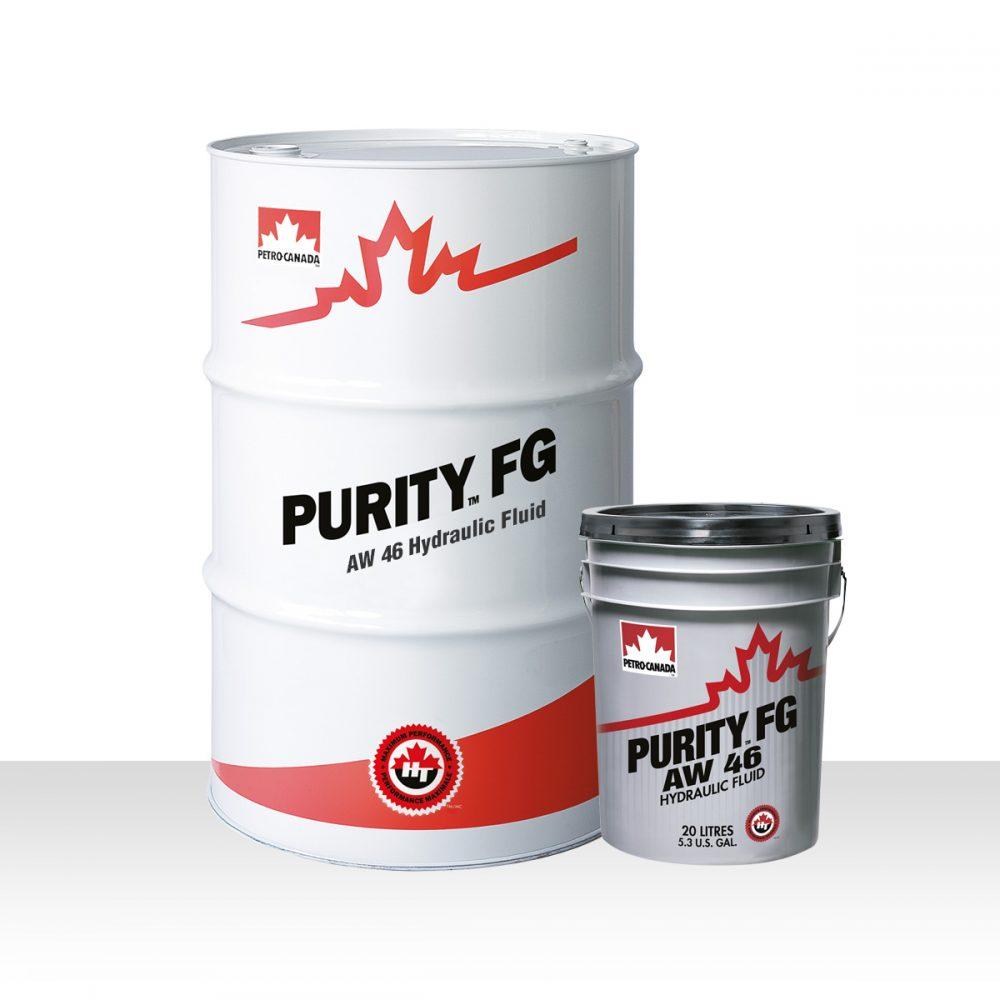 Petro Canada Purity FG AW Hydraulic Fluid 46