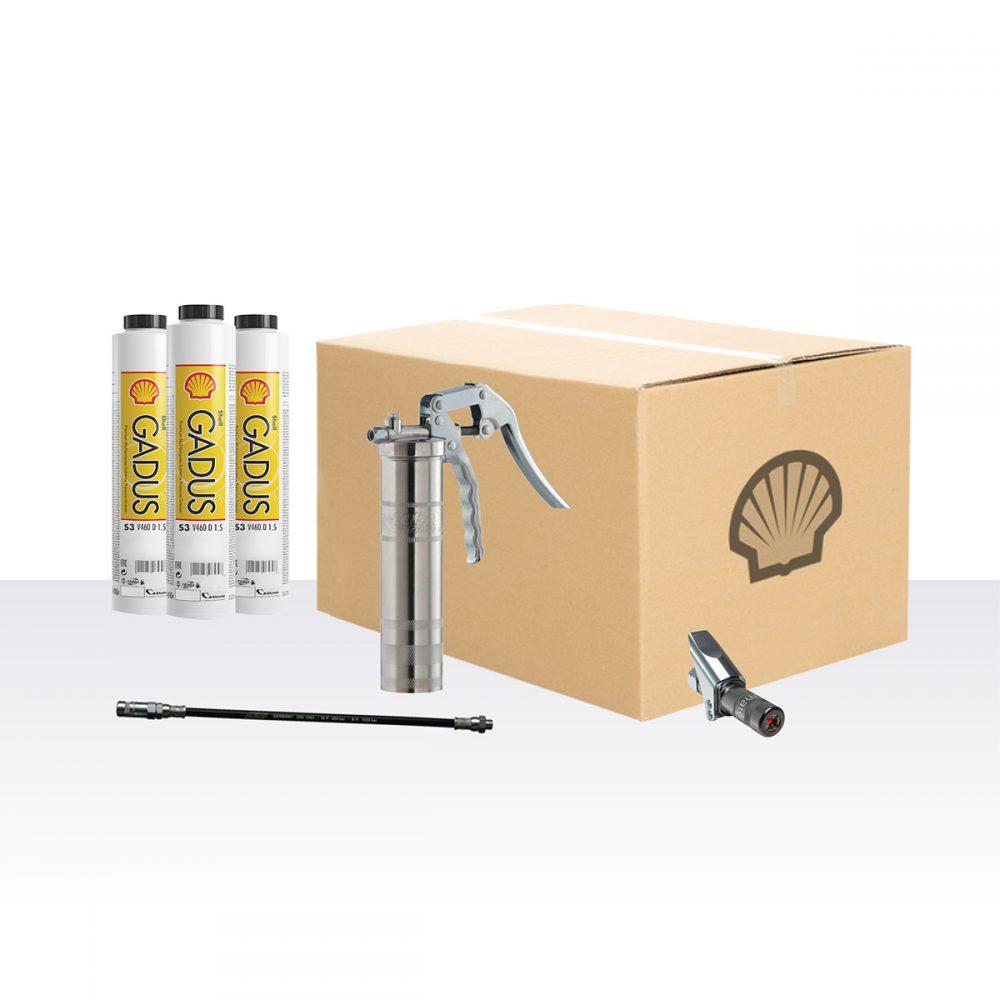 Premium Hochdruckfett Sparset: Shell Gadus S3 V220C 2 (KP2N-20)